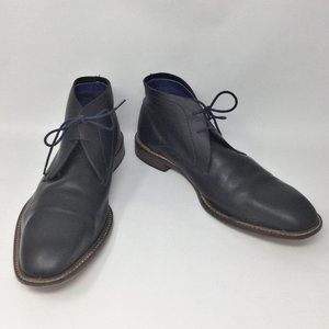 Ted Baker Torsdi 2 Leather Chukka Boot Blue 10.5